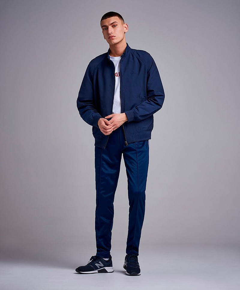 The Urban Oxford Jacket Evening Blue