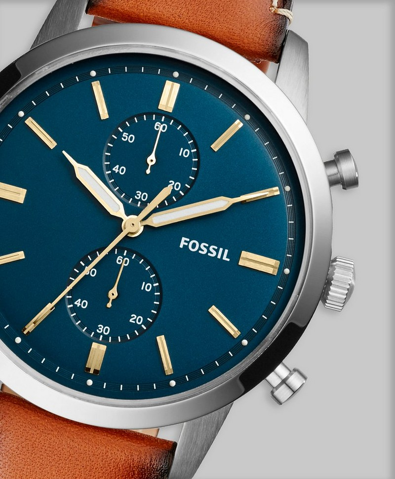 Fossil FS5279 Blue/Brown