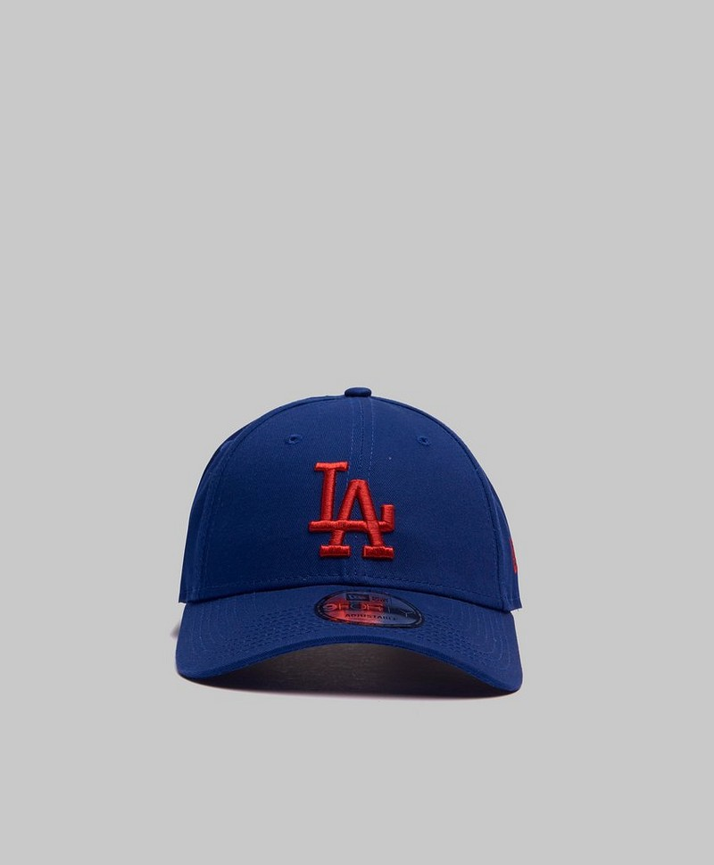 9Forty League Essential LA Dark Royal/Hot Red