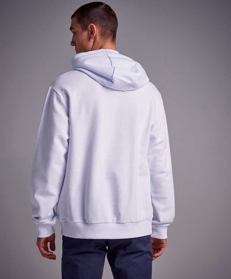 Shawn Hooded Sweat Bright White