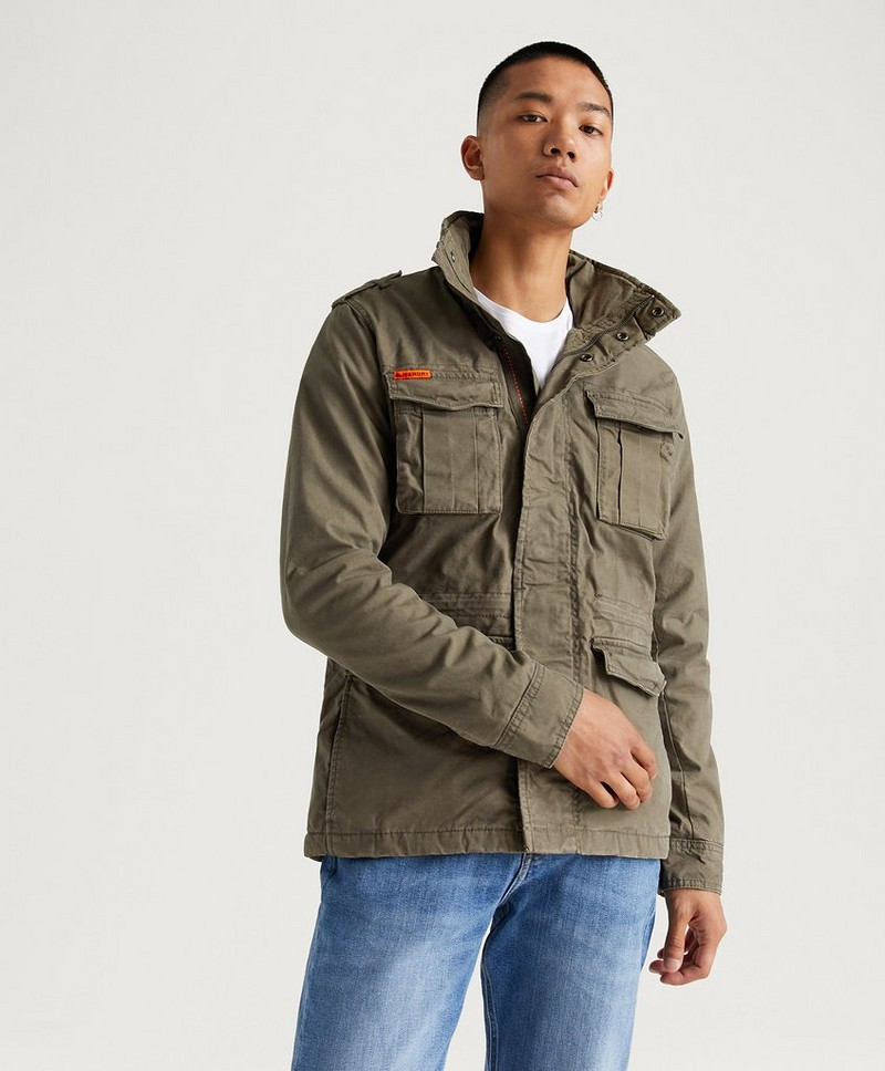 Classic Rookie Military Jacket