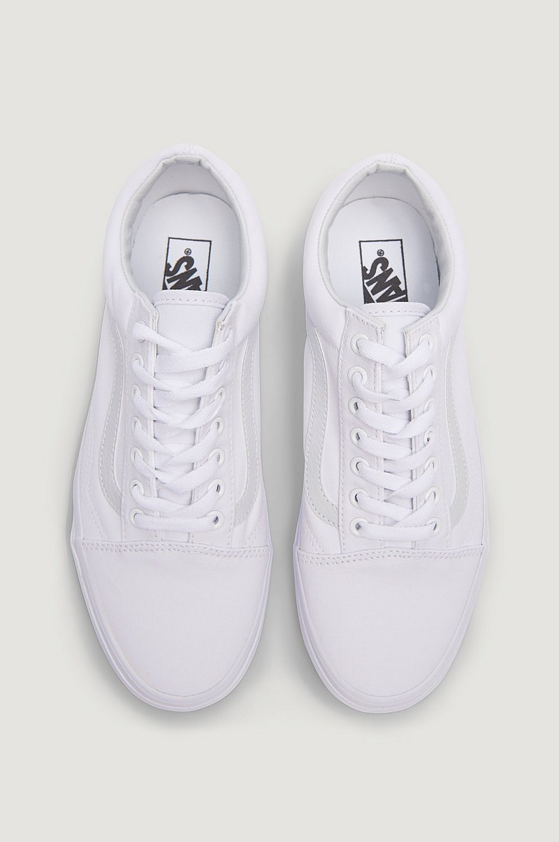 UA Old Skool True White