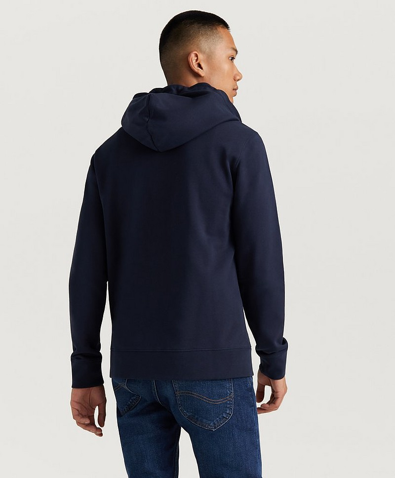Throw Zip Hood Cotten Sweat