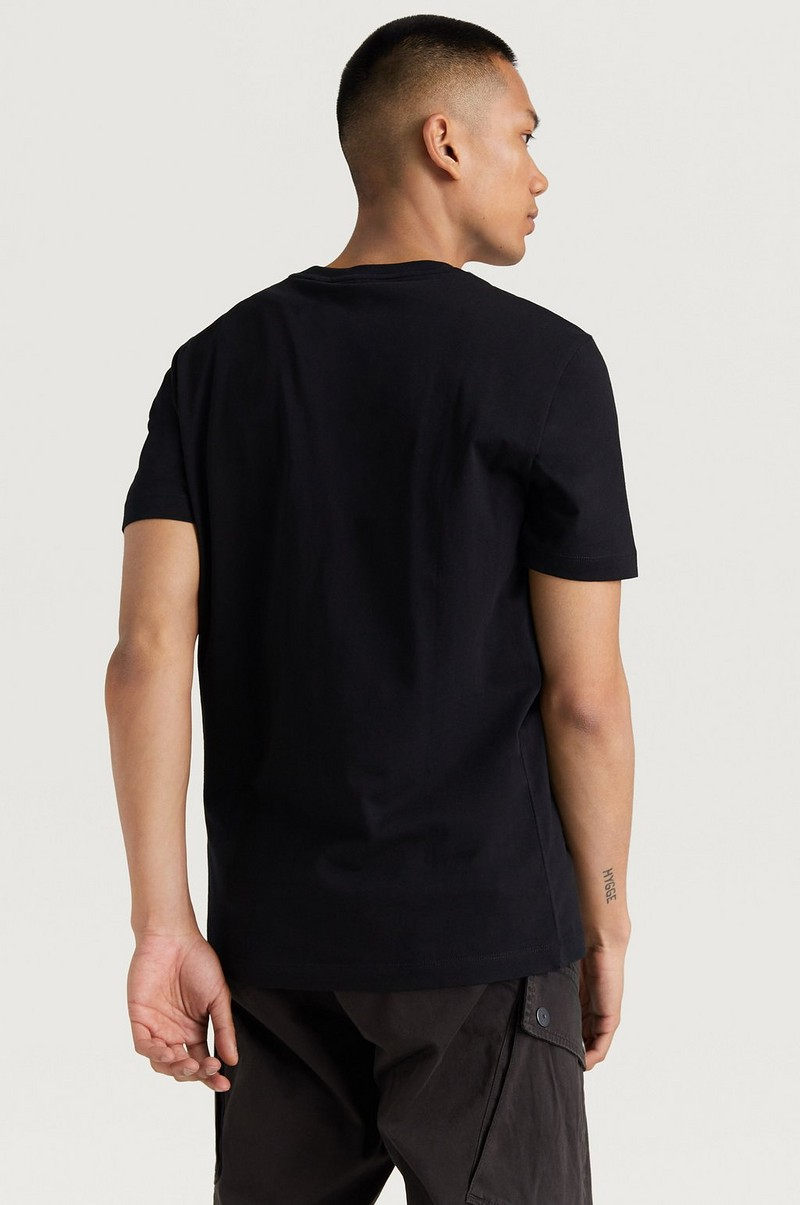 Cotton Logo Embroided T-shirt