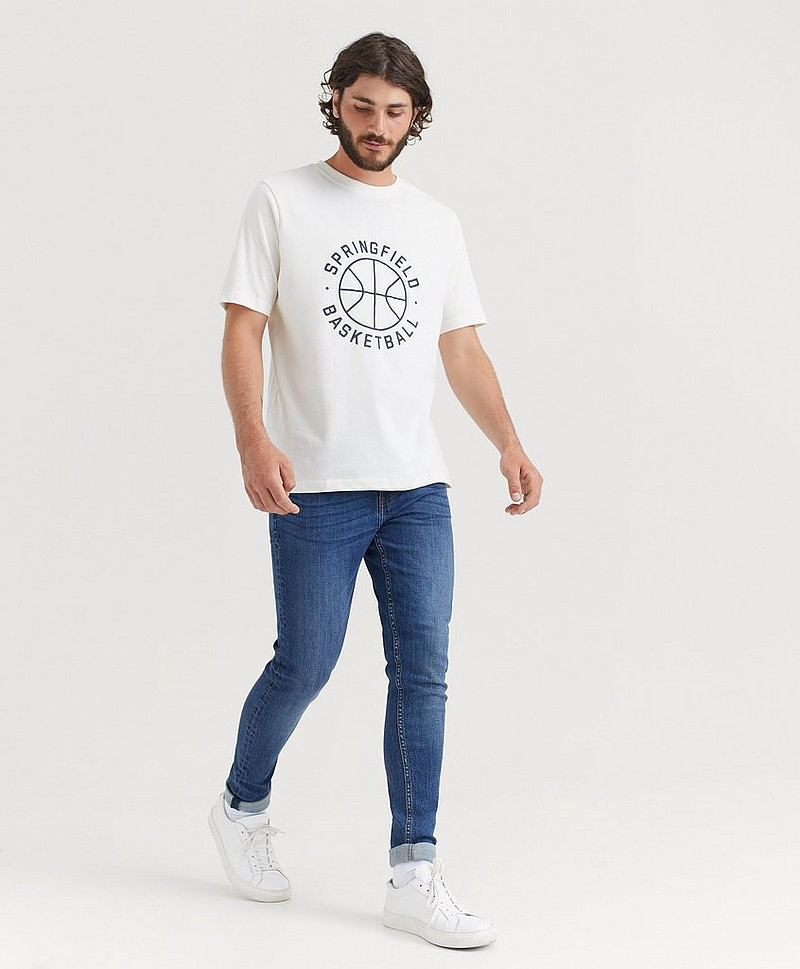 Relaxed Tee Printed