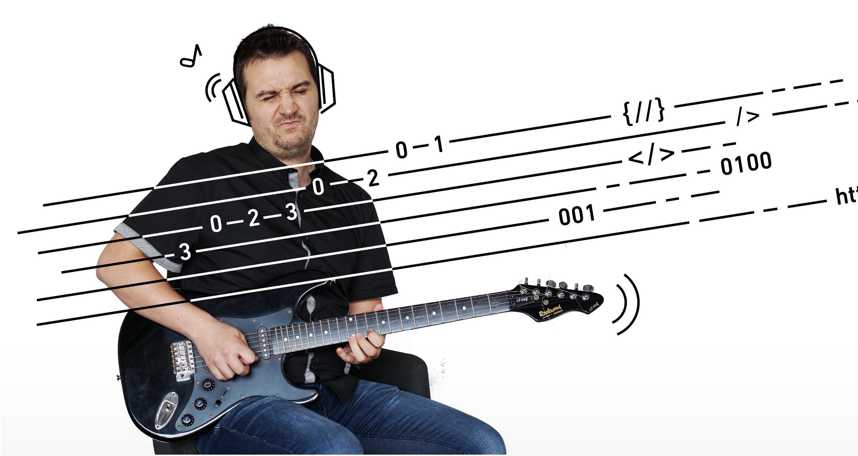 Music is like math