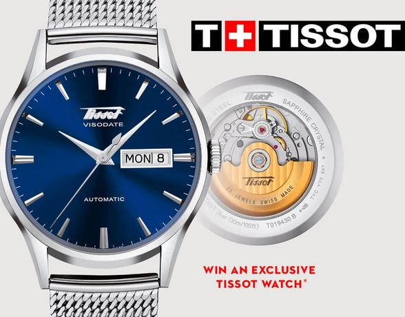 This is your time with the Tissot Chrono XL watch at Ernest Jones