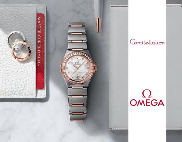 Omega Constellation at Ernest Jones