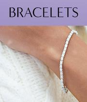 Bracelets from our Christmas Collection including gold, silver, cubic zirconia, precious diamonds and gemstones