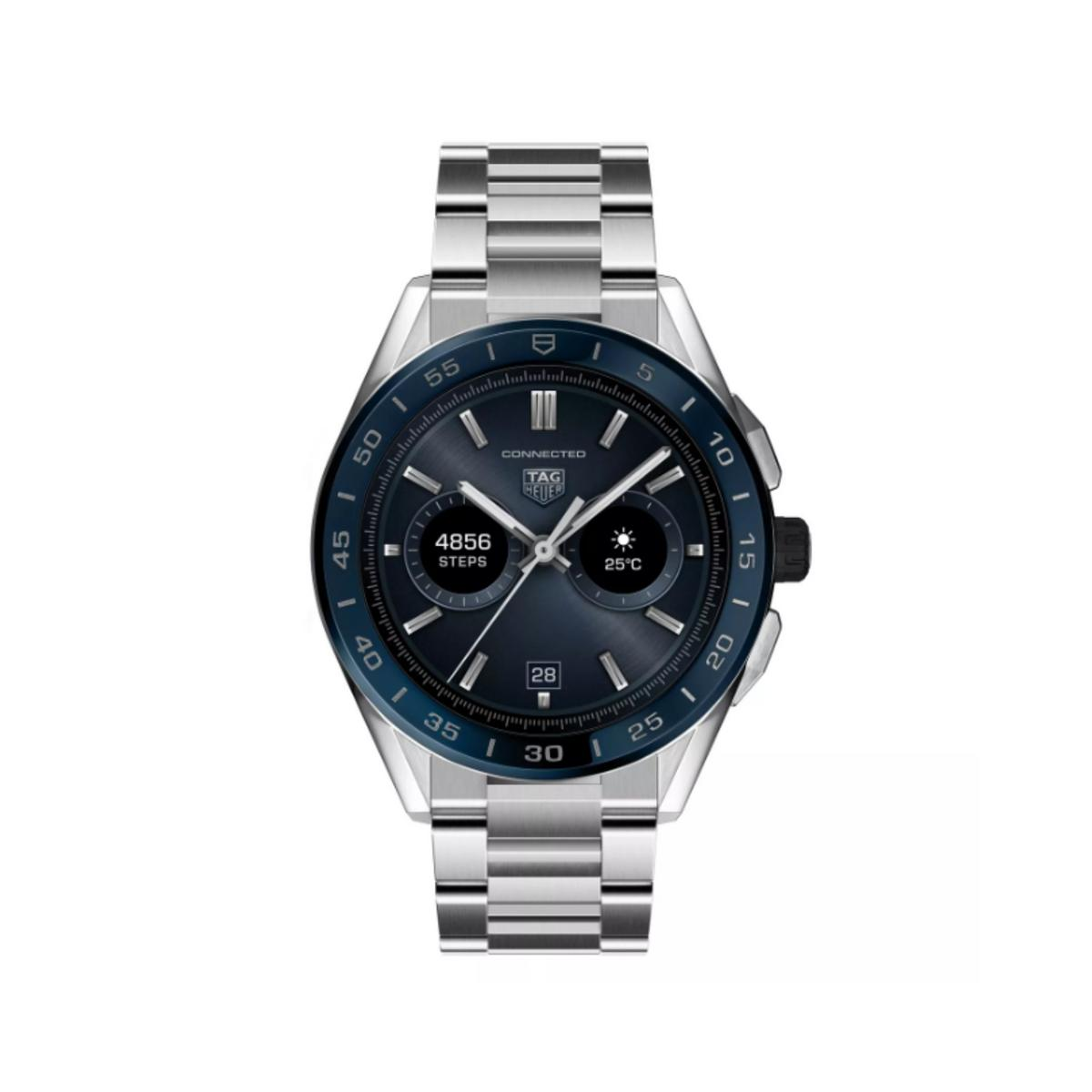 TAG Heuer Connected Stainless Steel Bracelet Watch