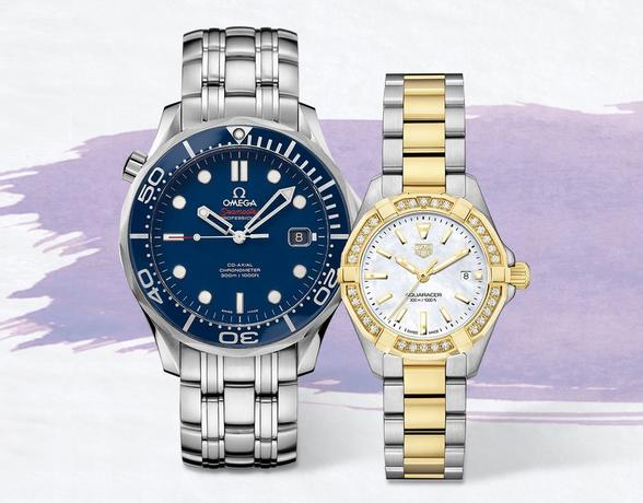 Find luxury watches at Ernest Jones at Christmas