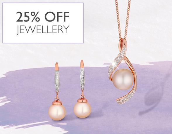 Find the 25% off Jewellery at Ernest Jones this Christmas