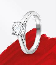Solitaire Engagement Rings at Ernest Jones