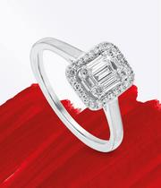 Cluster Engagement Rings at Ernest Jones