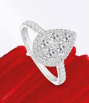 Pear Shape Engagement Rings at Ernest Jones