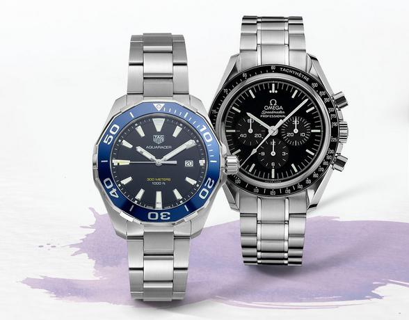 Luxury Watches from the best Swiss brands at Ernest Jones
