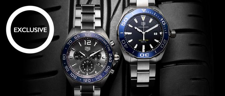 Exclusive TAG Heuer watches at Ernest Jones