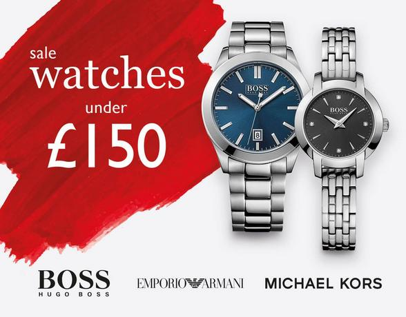 Sale watches under £150 at Ernest Jones