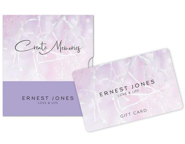 Gift cards at Ernest Jones