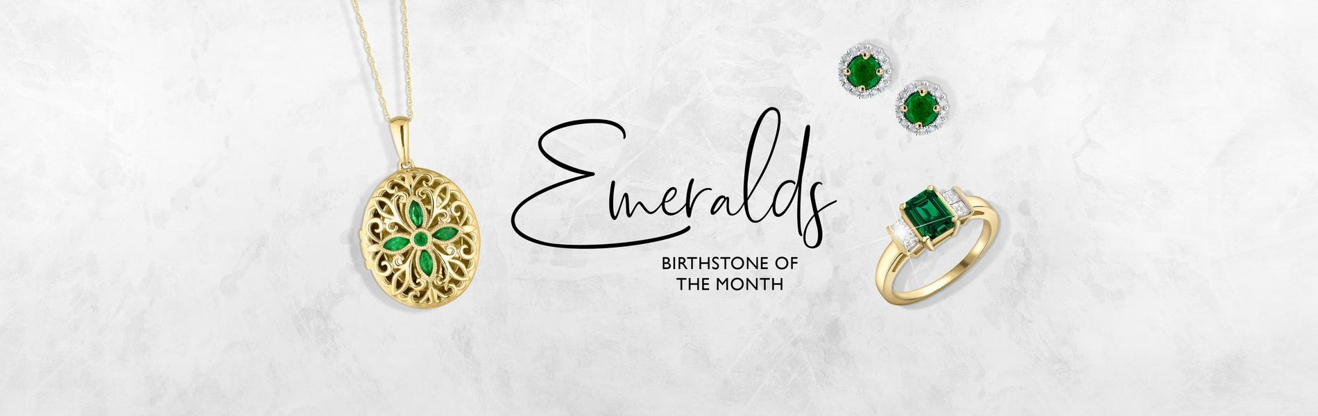 Emerald- birthstone of the month for May
