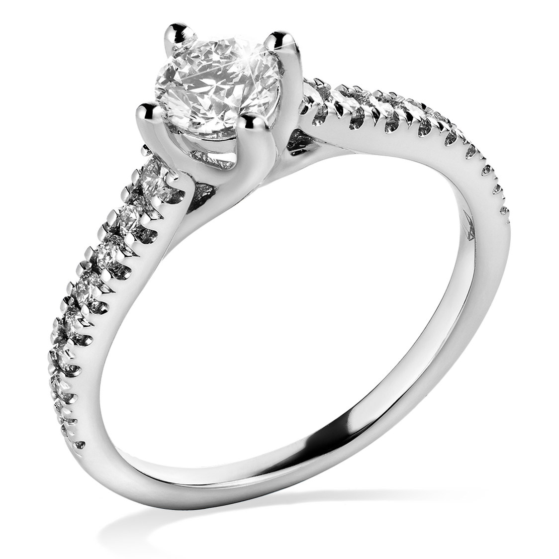 Arctic Light Platinum 1/2ct Diamond Ring