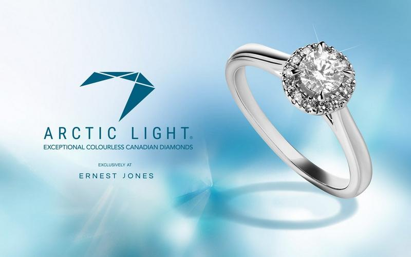 Exclusively at Ernest Jones - Arctic Light Canadian Diamonds