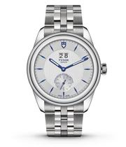 Tudor Glamour Double Date Stainless Steel Bracelet Watch