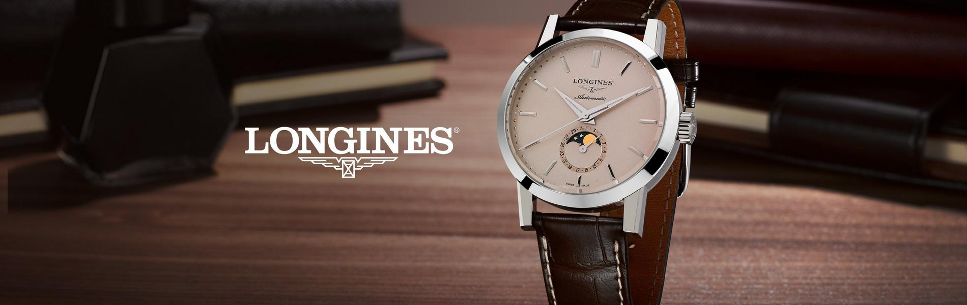 A New Chapter in the Longines 1832 Iconic Tale. 1832 Moonphase Men's Brown Leather Strap Watch.