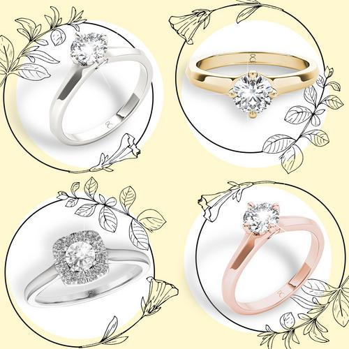 Diamond Story engagement rings
