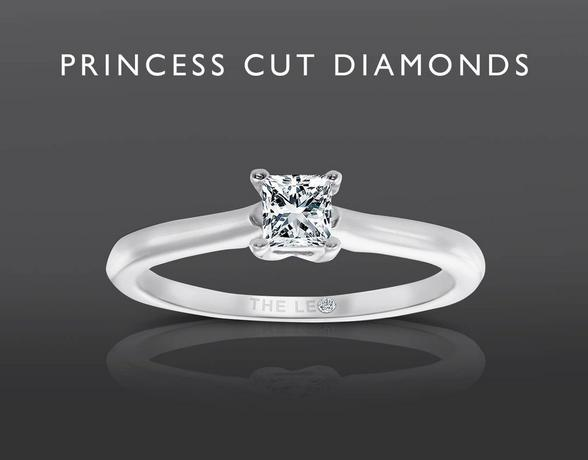 Princess Cut Diamonds from Ernest Jones