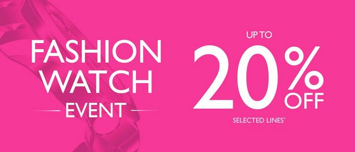 Fashion Watch Sale at Ernest Jones