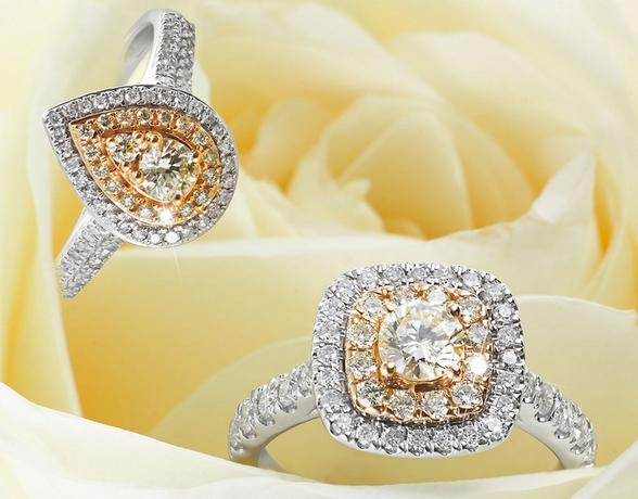 Yellow Diamonds at Ernest Jones