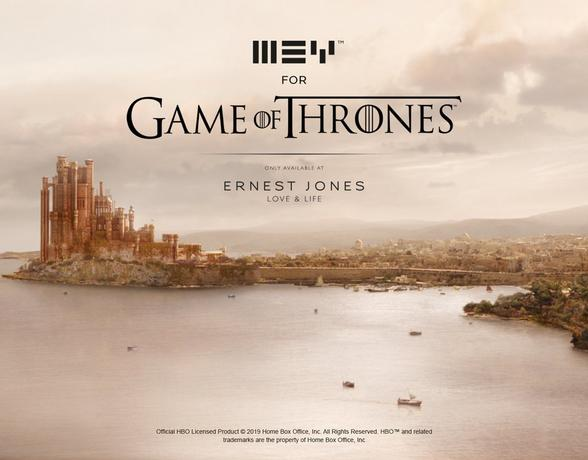 MEY for Game Of Thrones at Ernest Jones