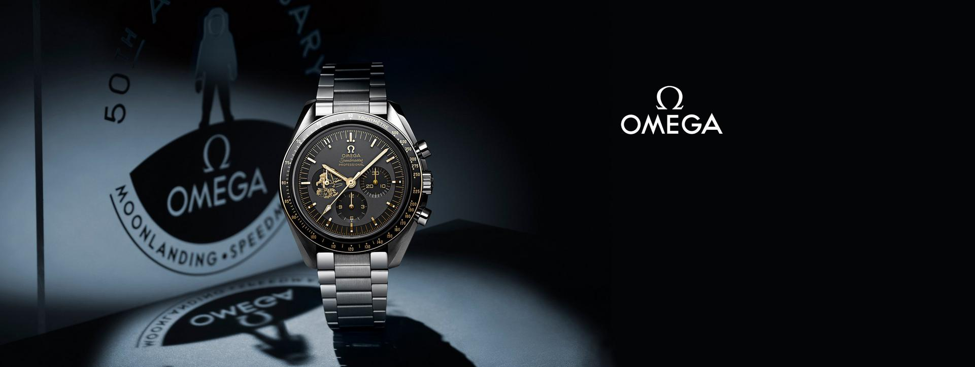 Omega moonwatch at Ernest Jones