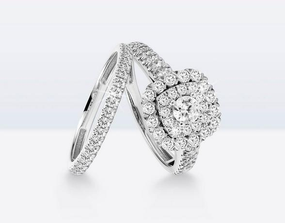 Stunning diamond Bridal Sets at Ernest Jones