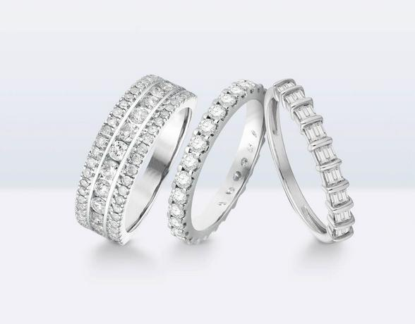 Diamond Eternity Rings at Ernest Jones