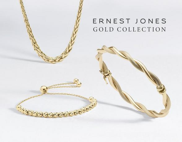 The gold collection at Ernest Jones