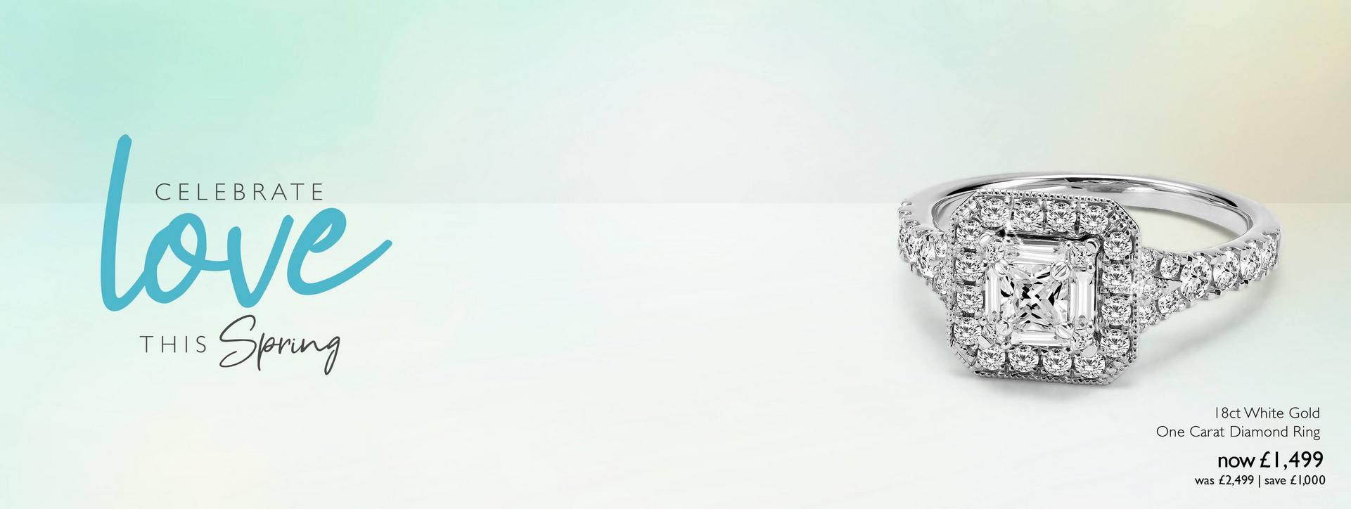 Find their perfect Engagement Ring at Ernest Jones