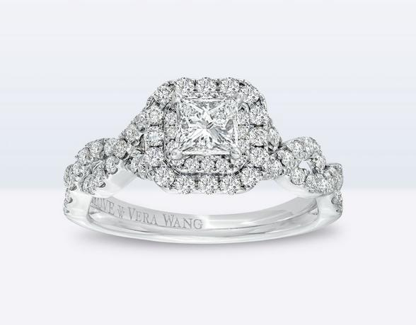 Vera Wang engagement ring at Ernest Jones