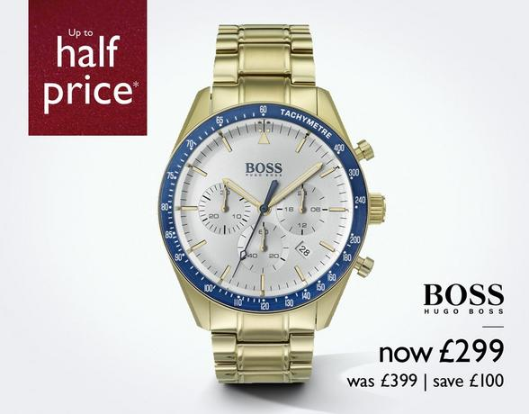 Men's Watches at Ernest Jones - now up to 50% off