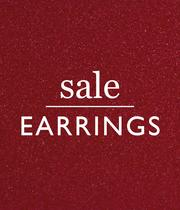 Up to half price earrings