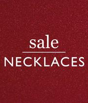 Up to half price necklaces