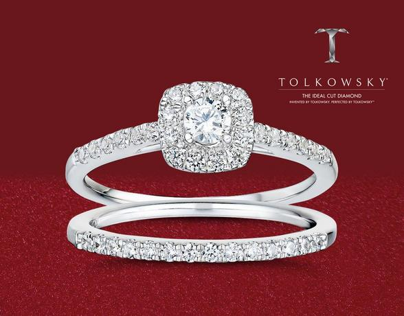 Tolkowsky diamonds at Ernest Jones - now up to 50% off