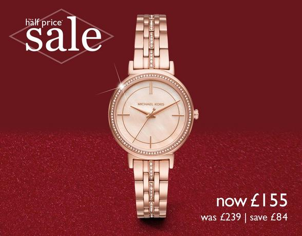 Up to half price ladies' watches - Michael Kors, Gucci, BOSS