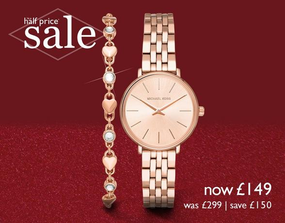 Ladies' Watches at Ernest Jones - now up to 50%