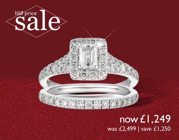 Bridal Sets for that perfect proposal at Ernest Jones