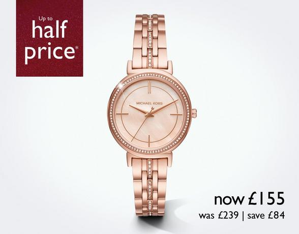 Ladies' Watches at Ernest Jones - now up to 50% off