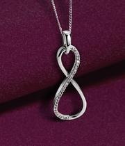 Christmas necklace collection - expertly curated range of diamond, gold, silver and rare gemstone necklaces at Ernest Jones