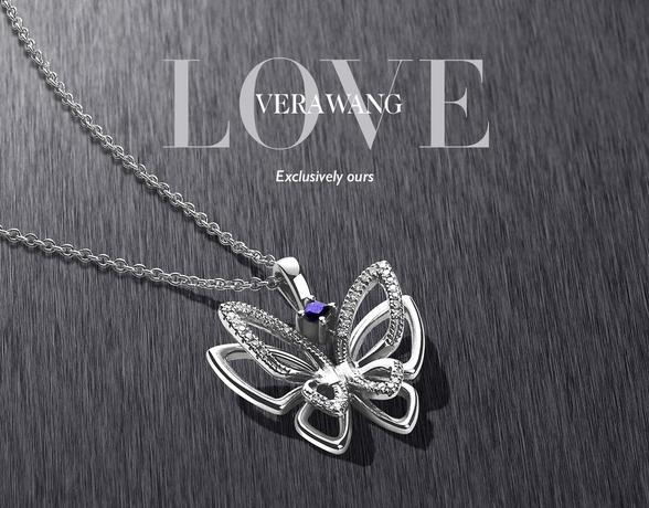 The Vera Wang LOVE collection at Ernest Jones this Christmas