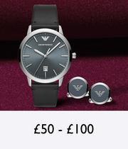 Christmas gifts for £50 to £150 at Ernest Jones
